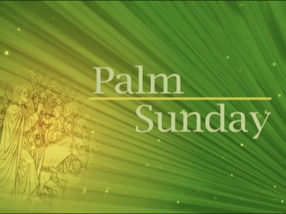 PALM SUNDAY TITLE BACKGROUND