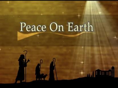 PEACE ON EARTH CHRISTMAS LOOP