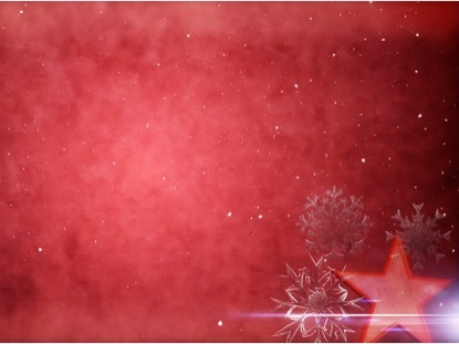 RED CHRISTMAS WORSHIP BACKGROUND