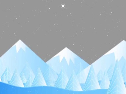 SNOWY MOUNTAINS WINTER BACKGROUND