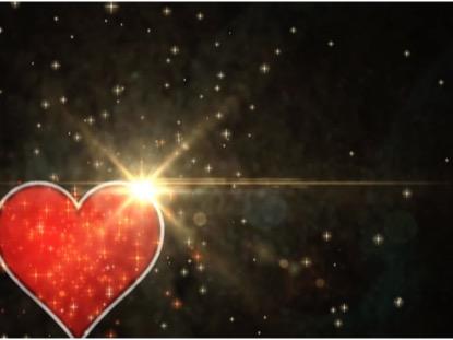 VALENTINE HEART AND STARS