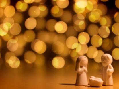 VINTAGE CHRISTMAS NATIVITY