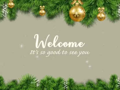 WINTER HOLIDAYS WELCOME TEXT
