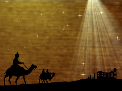 WISE MEN CHRISTMAS BACKGROUND