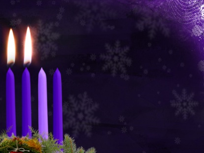 Advent Candle Motion Week 2 | Vertical Hold Media | WorshipHouse Media