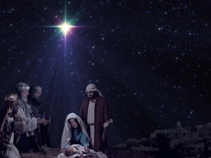 CHRISTMAS STAR MAGI NATIVITY MOTION 1