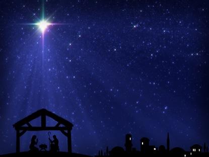 Christmas Star Manger Bethlehem Motion 1 | Vertical Hold ...