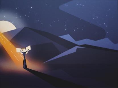 CHRISTMAS NIGHT ANGEL