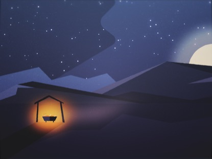 CHRISTMAS NIGHT MANGER