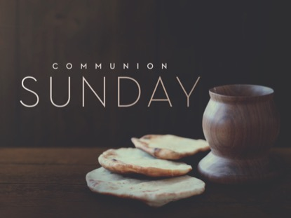 COMMUNION SUNDAY TITLE