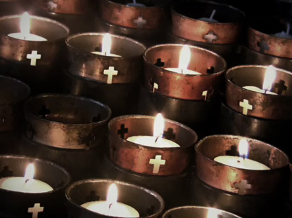 CROSS CANDLES