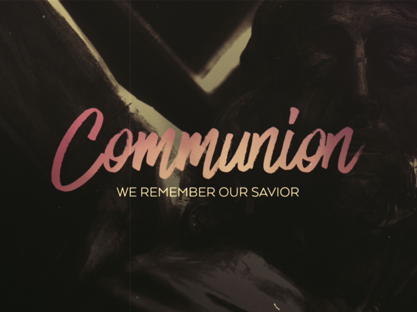 FRIDAY WORDS COMMUNION