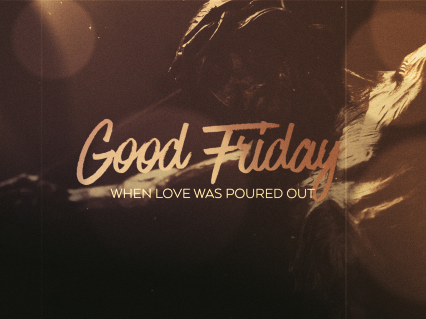 FRIDAY WORDS GOOD FRIDAY