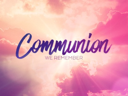 RESURRECTION WORDS COMMUNION