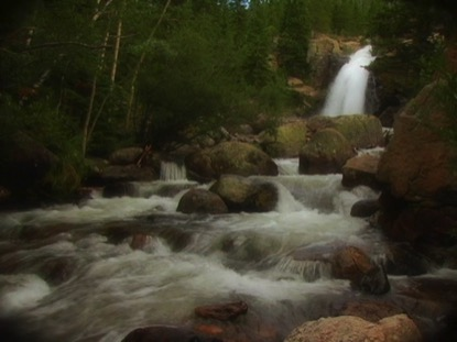 WATERFALL SCENE