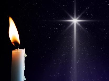 CANDLE AND STAR