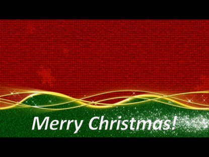 CHRISTMAS COLORS GREETING LOOP