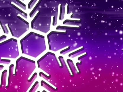 LET IT SNOW PURPLE-PINK