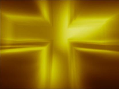 METALLIC CROSS GOLDEN