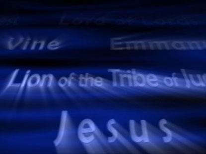 NAMES OF JESUS BLUE LOOP