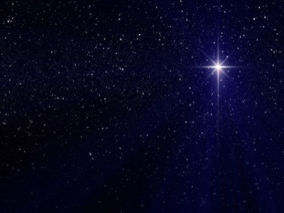 NATIVITY STAR DEEP BLUE LOOP