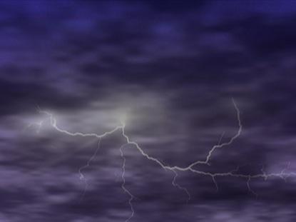 PLUM SKY LIGHTNING