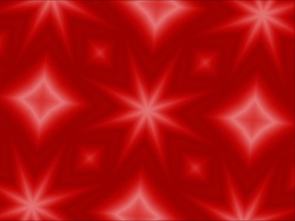 RED CHRISTMAS KALEIDOSCOPE