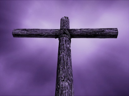ROLLING THUNDER CROSS - PURPLE