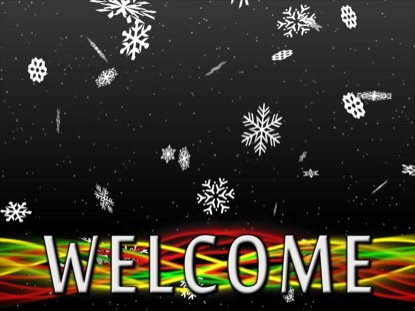 SNOWFALL WELCOME