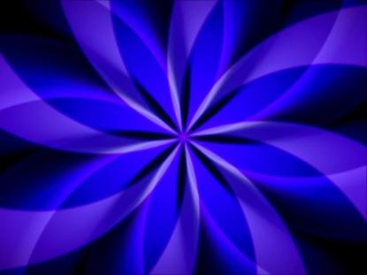 SPIROGRAPHIC PURPLE BLUE