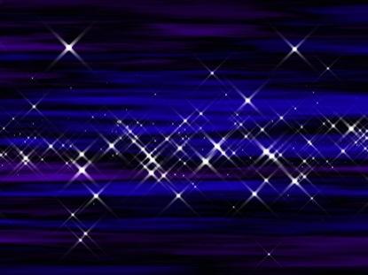 STARBURST PURPLE-BLUE