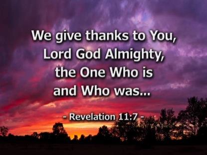 THANKSGIVING SCRIPTURES LONGPLAY LOOP