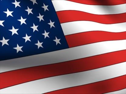USA FLAG RIPPLING