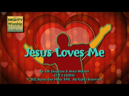 JESUS LOVES ME (WORSHIP MOTIONS)