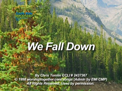 WE FALL DOWN