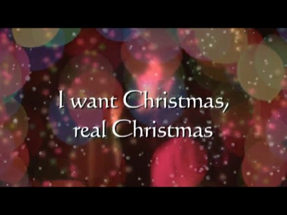 I WANT CHRISTMAS (REAL CHRISTMAS) DANCE MIX