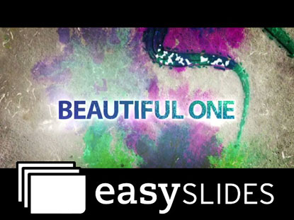 BEAUTIFUL ONE (EASYSLIDES)