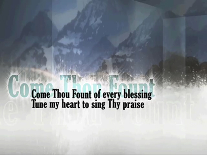 COME THOU FOUNT: IWORSHIP FLEXX