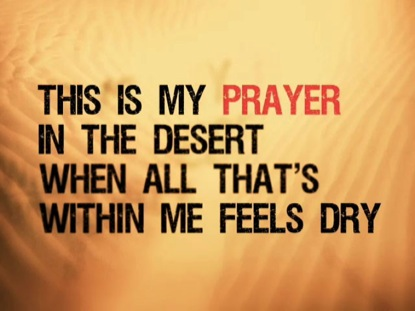 DESERT SONG: IWORSHIP FLEXX