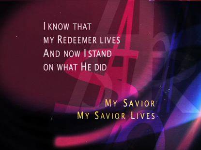 MY SAVIOR LIVES: IWORSHIP FLEXX