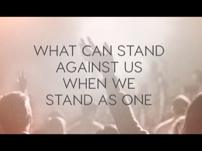 WE STAND AS ONE