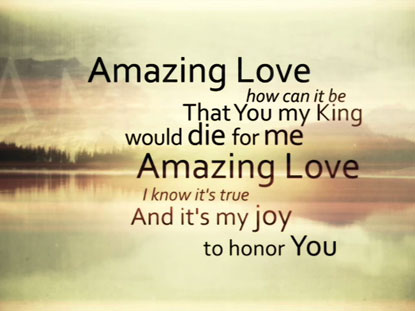 YOU ARE MY KING (AMAZING LOVE): IWORSHIP FLEXX