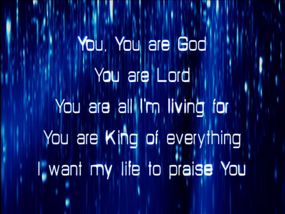 YOU YOU ARE GOD: IWORSHIP FLEXX