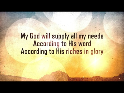 ACCORDING TO HIS WORD