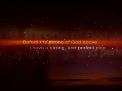 BEFORE THRONE OF GOD