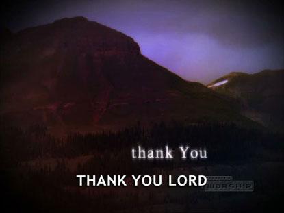 THANK YOU LORD: iWorship