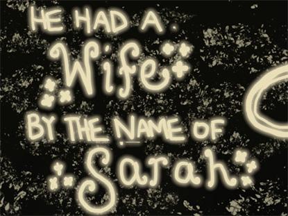 ABRAHAM AND SARAH (STORY SONG)