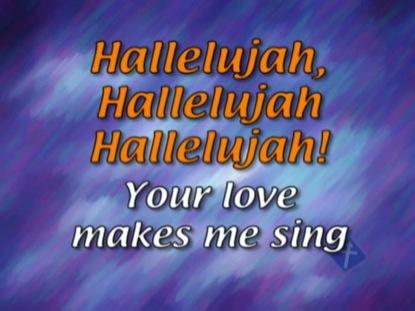 HALLELUJAH YOUR LOVE