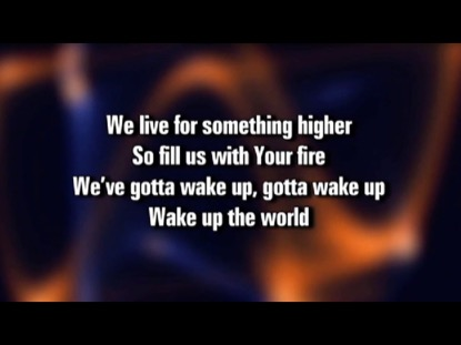 WAKE UP THE WORLD