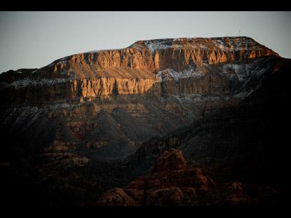 MOUNTAIN DESERT SUNSET